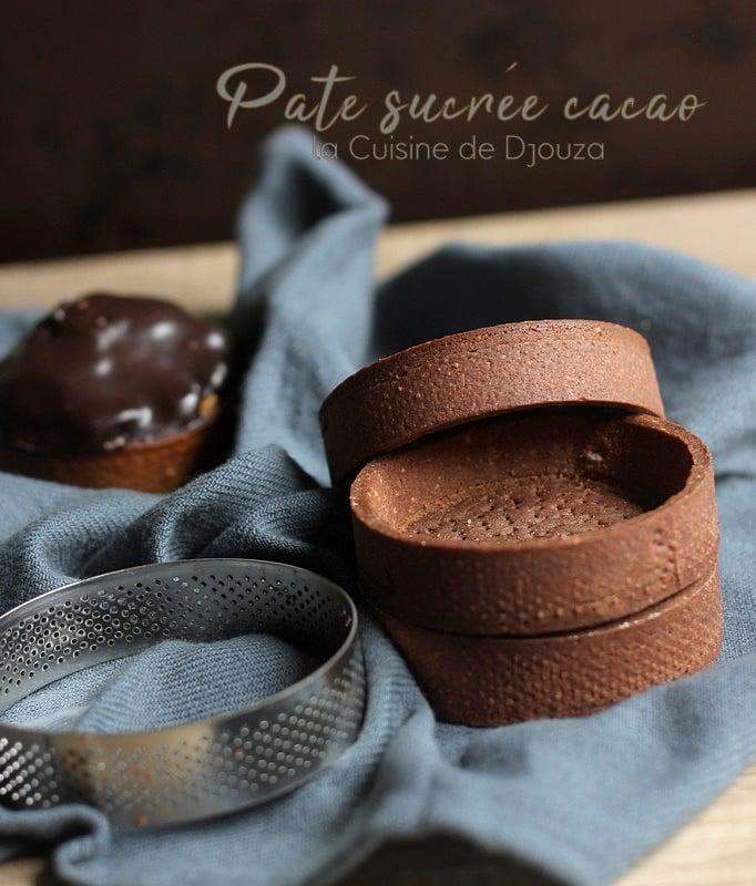 Pate sucrée cacao pour tarte