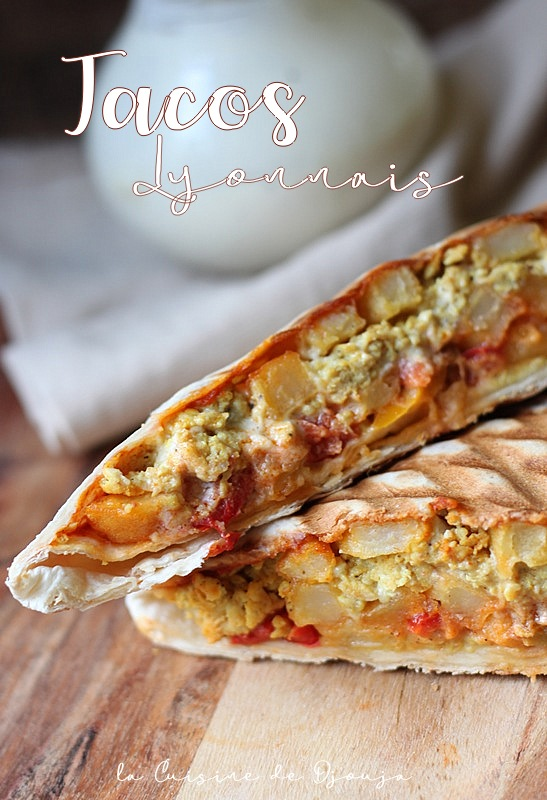 Tacos lyonnais sauce gruyère maison