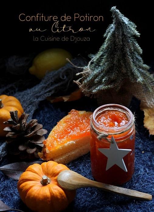 Confiture de légumes oranges