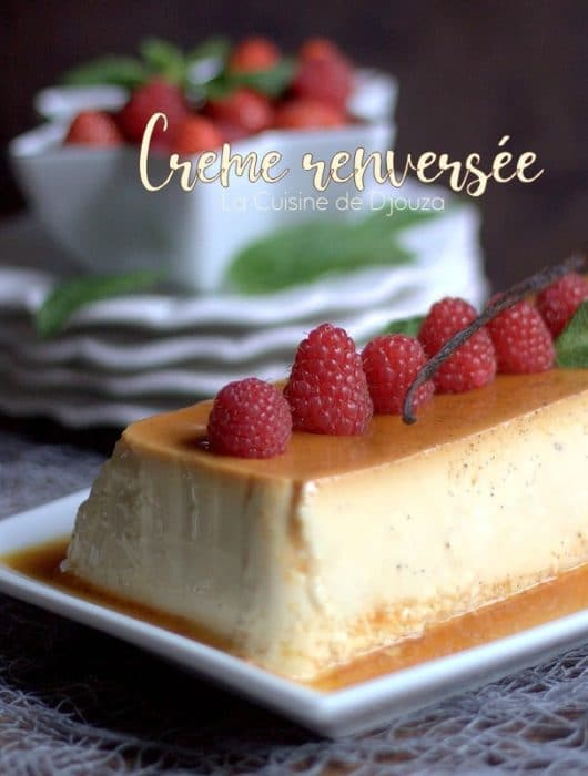 Crème caramel au four omnicuiseur
