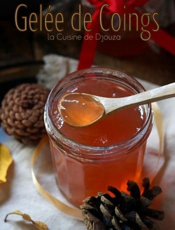 Confiture de coings