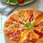 Quiche poivrons fromage