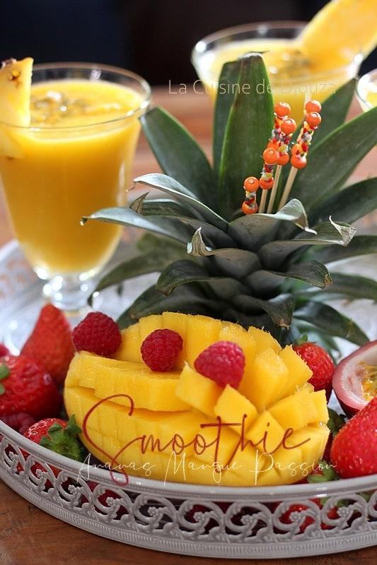 Smoothie Ananas Mangue Passion