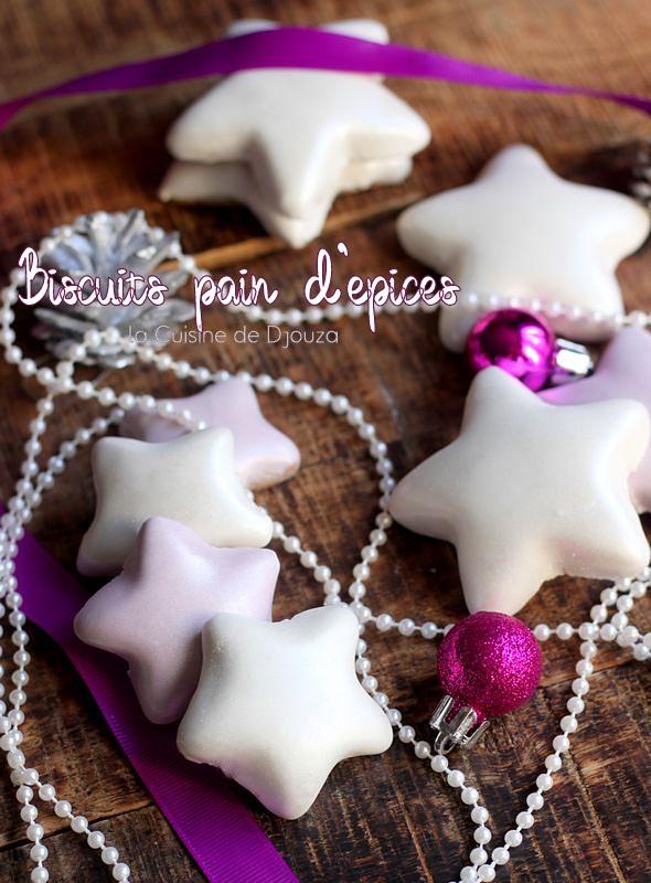Biscuits de Noël étoiles glacées