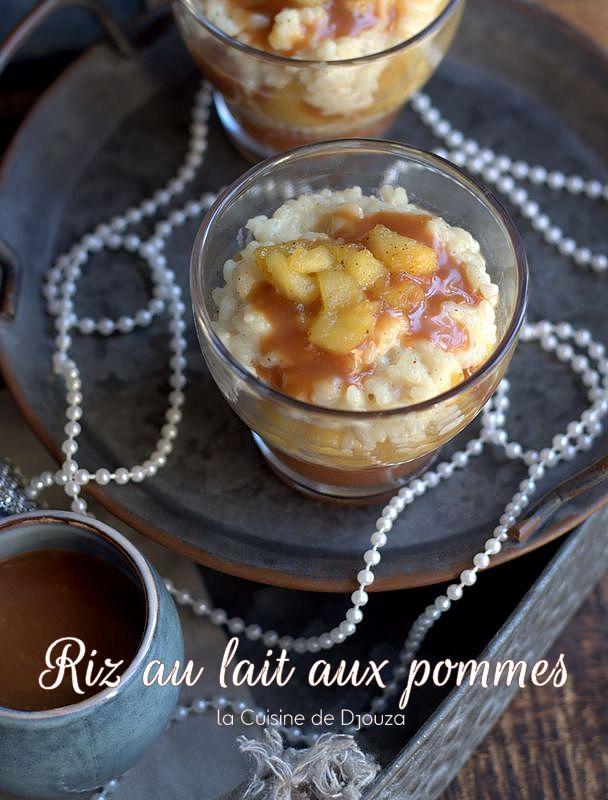 dessert à l'ancienne au riz et pommes