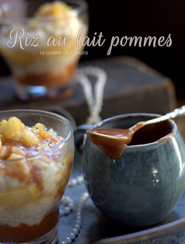 Recette du riz au lait vanille et pommes caramélisées