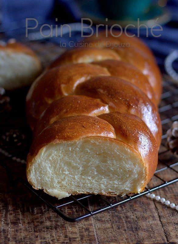 pain brioché tressé à l'huile