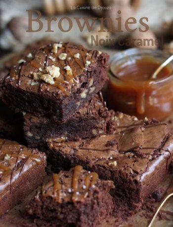Brownie caramel chocolat
