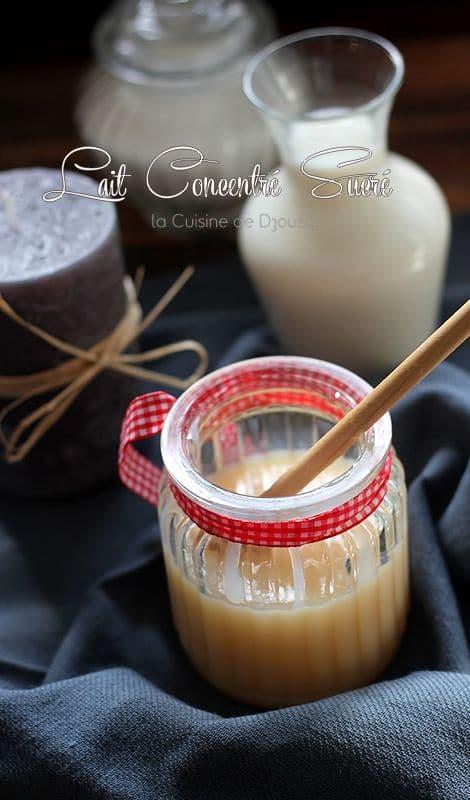 lait concentré sucré facile maison