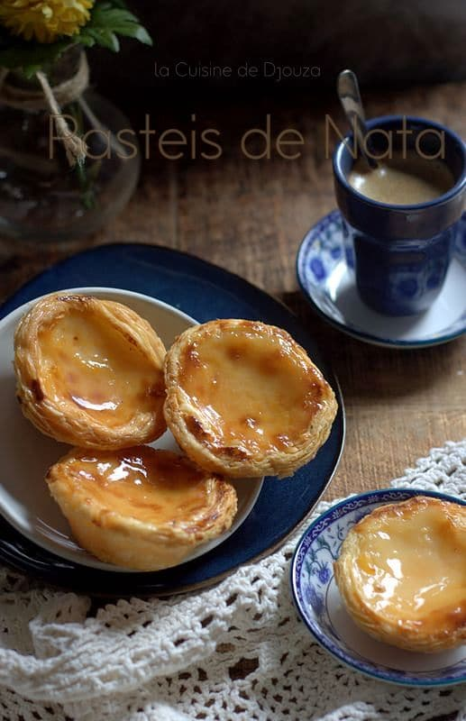 Pasteis de nata portugaises