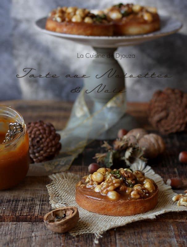 Tartelettes noisettes au caramel