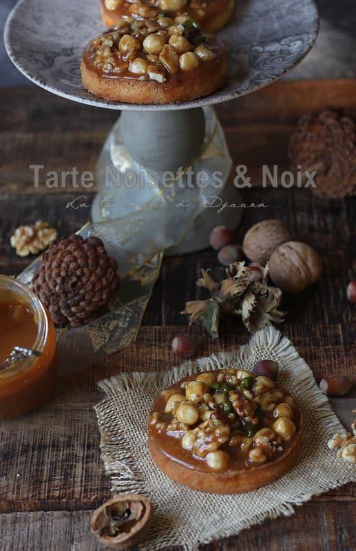 Tartelettes noix noisettes