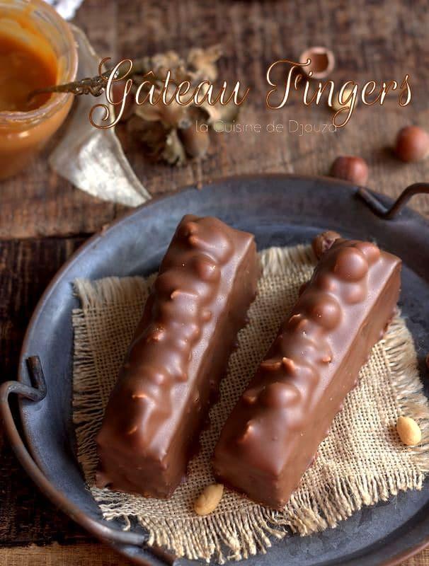 gateau finger chocolat caramel