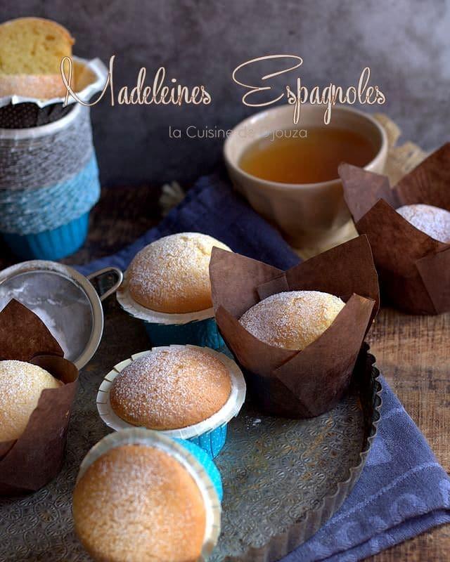 madeleine magdalenas au citron