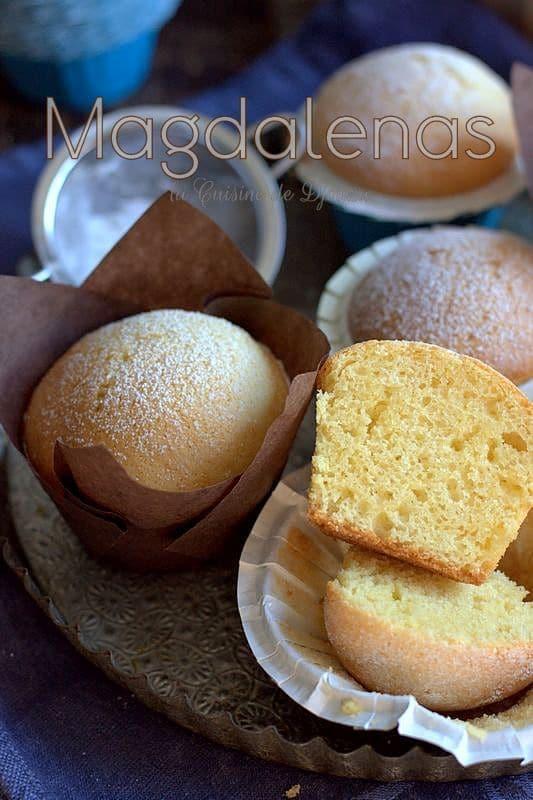 recette de madeleines espagnoles au citron