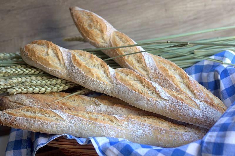 baguette française sans pétrissage