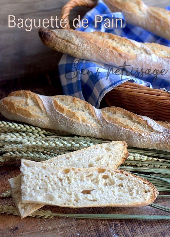 pain boulanger sans pétrissage