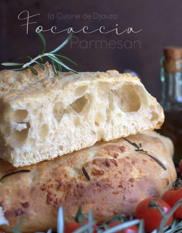 recette fougasse italienne au parmesan