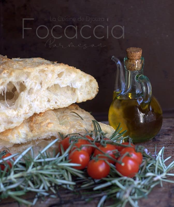 Focaccia parmigiano