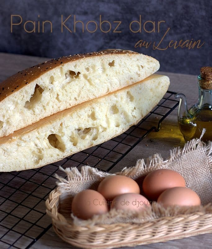 pain maison à la farine khobz dar