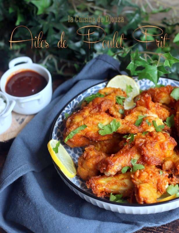 ailes de poulet frits pané