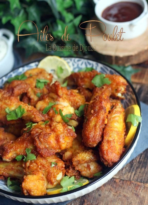 ailes de poulet frit chickens wings