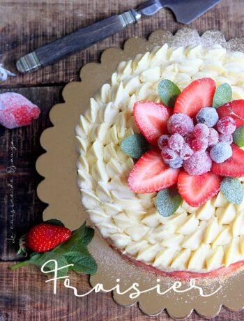 Recette fraisier d'anniversaire