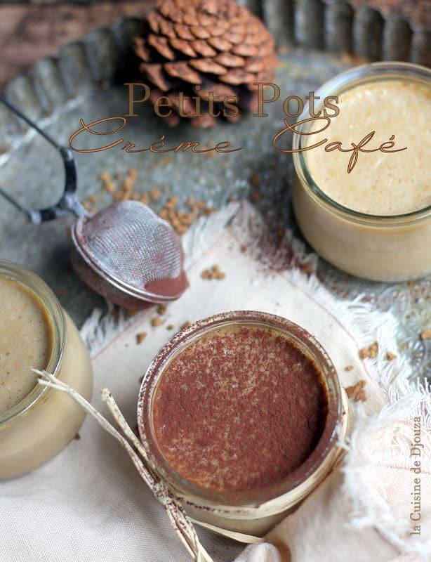 crème dessert au café au four