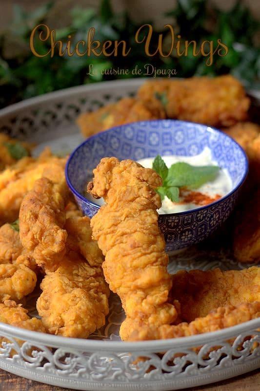 tenders de poulet frit