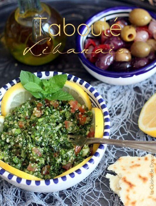 Salade de boulgour libanais