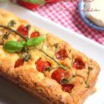 cake salé au fromage de saint marcellin