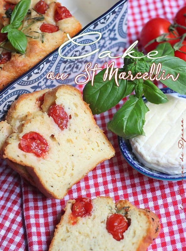 cake au saint marcellin crémeux