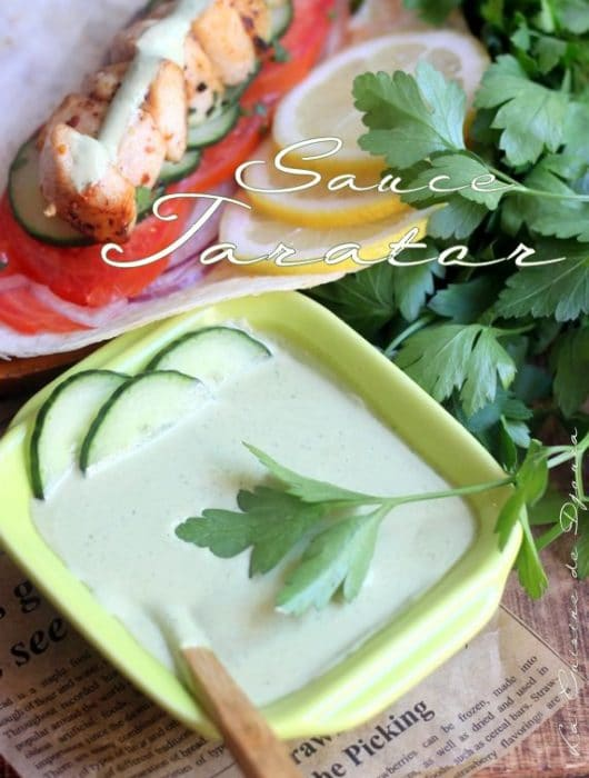Sauce tarator libanaise au tahiné