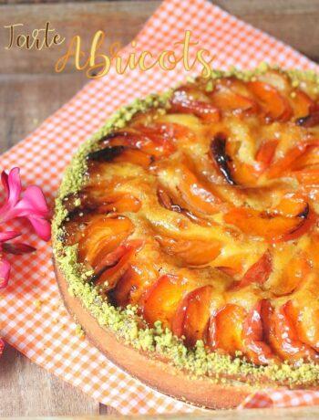 Tartes apricot pistache et amande