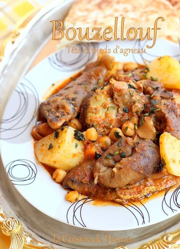 Chtitha Bouzellouf en sauce rouge