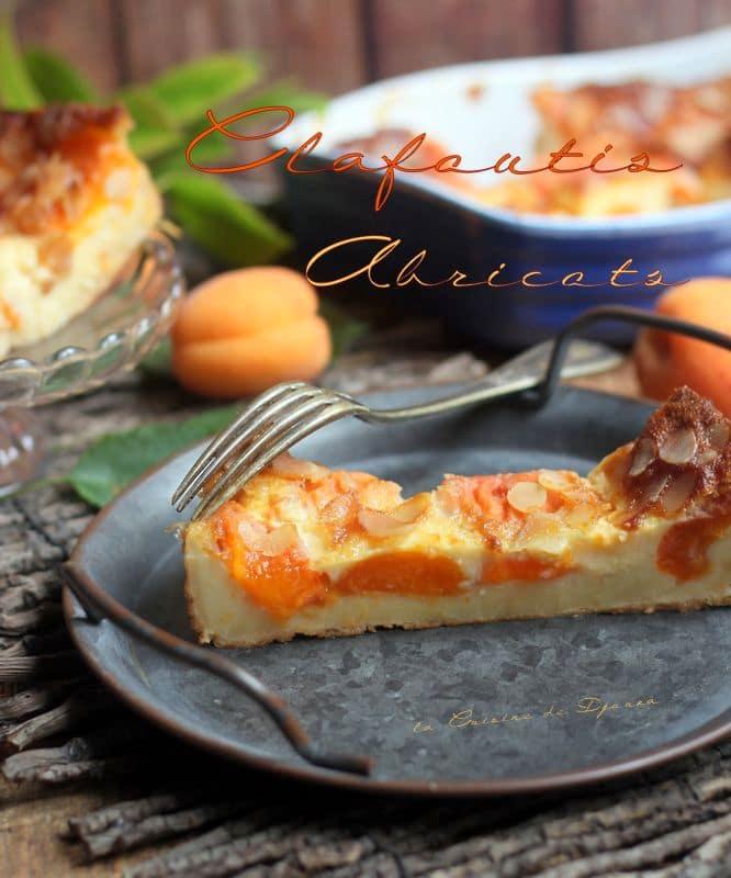 Recette clafoutis facile avec abricot