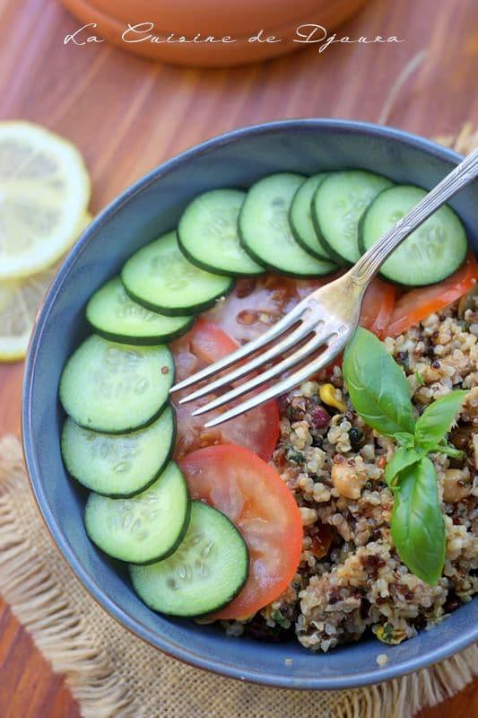 Salade d'été au boulghor