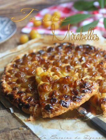 Recette de tarte aux mirabelles fraîches