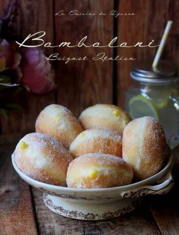 Bomboloni beignet italien