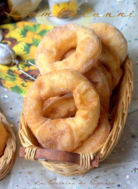 Bambalouni beignets tunisiens