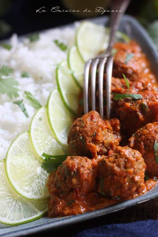 Curry kofta massala
