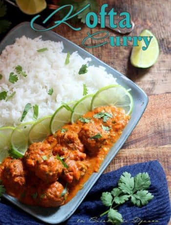 curry kofta massala