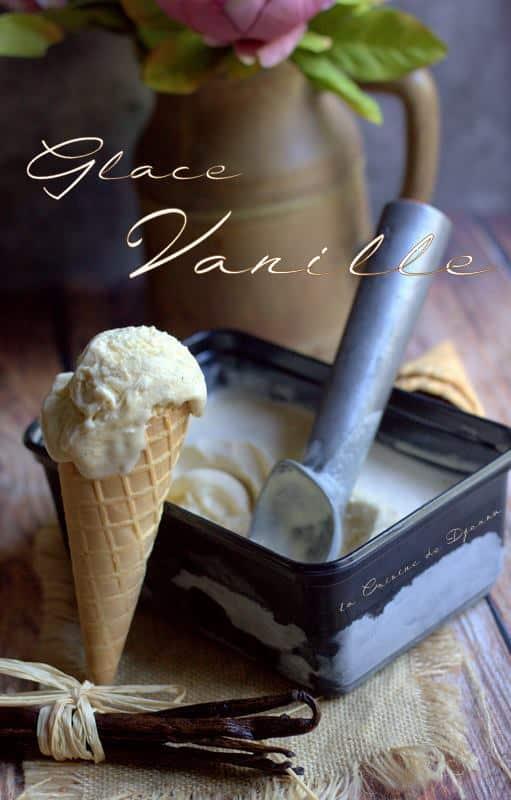 Recette crème glacée vanille de Gaston lenotre