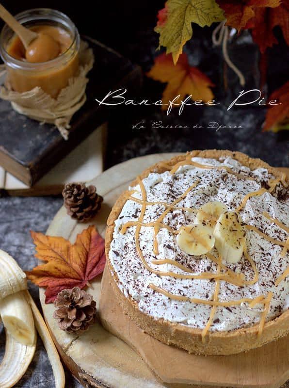 Tarte banoffee pie anglaise