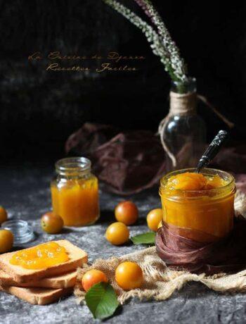 Confiture de mirabelles fève tonka