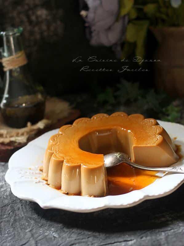 Dessert à la crème italien pana cotta