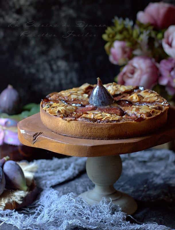 Recette de tarte amandine aux figues fraîches