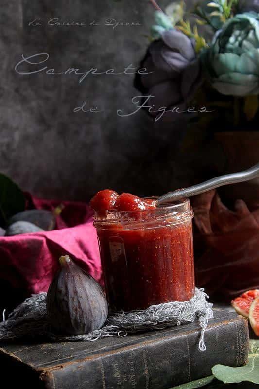 compote peu sucrée de figue
