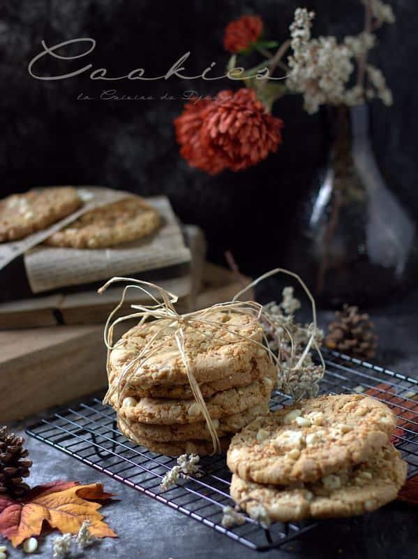 Recette de cookies croustillants et croquants
