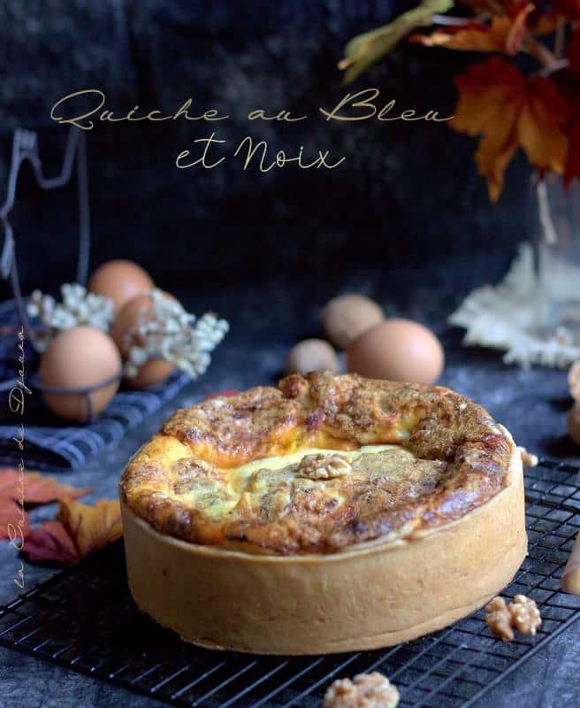tarte au fromage de bresse et noix